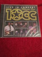 10cc TEN CC Godley Creme Volume One Live in Concert CD NEW and SEALED