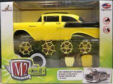 M2 MACHINES 1:24 MODEL-KIT 1957 CHEVROLET 150 SEDAN CHASE DIECAST CAR 47000-02