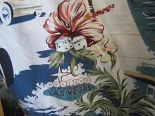 Mens Vintage Large Hawaiian Style Shirt  Las Vegas Inspired