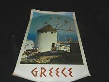 Vintage Poster Greece