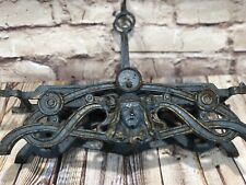 Art Nouveau circa1800's ornate mercantile cast iron balancing scale ornate