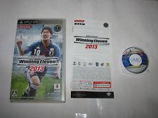 World Soccer Winning Eleven 2013 Sony PSP Japan import US Seller