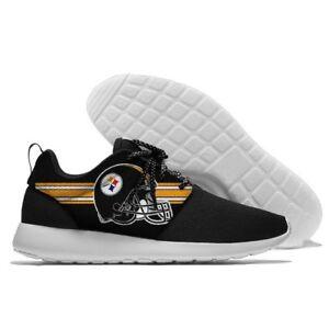 PITTSBURGH STEELERS Men's Women's Lightweight Shoes Sneakers Football Team NEW