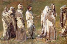 Cashmere painting - John Singer Sargent - Giclee Fine Art Canvas Print