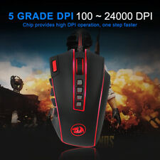 Redragon LEGEND M990 USB wired RGB Gaming Mouse 24000DPI 24buttons programmable