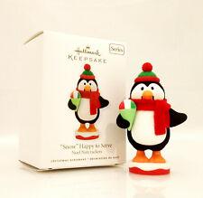 Hallmark Series Ornament 2010 Noel Nutcracker #3 - Snow Happy to Serve - #Qx8326