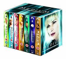 MEDIUM 1-7 COMPLETE SEASON 1 2 3 4 5 6 7 34 DVD BOX SET KOMPLETE SERIE