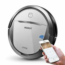 ECOVACS DEEBOT M80 Pro Robotic Vacuum Cleaner with Mop and Water Tank, for Hard