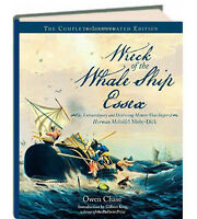 Wreck of the Whale Ship Essex by Owen Chase (Hardcover)inspiration for Moby Dick
