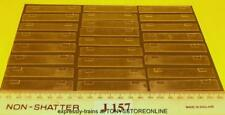 j157 jouef ho spares 25x clear plastic window units for class 40