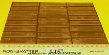 J157 Jouef Ho Repuestos 25 X Plástico Transparente Ventana Unidades para Clase