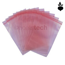 Esd Static Bags 4mil Pink Poly Zip Lock Top Reclosable 2x3568912