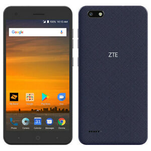ZTE Blade Force - N9517 - 16GB - Blue - Boost Mobile  - A Stock