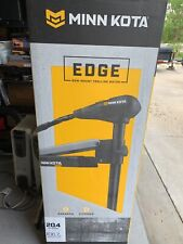 "Minn Kota EDGE 45lbs Thrust 42"" in Shaft Bow Mount Trolling Motor Foot Pedal Con"