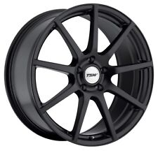 19x8 TSW Interlagos 5x120 +35 Matte Black Rims Fits Bmw 325i 328i 330i E46
