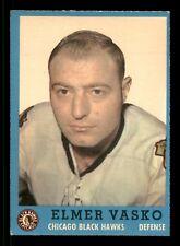 ELMER VASKO 62-63 TOPPS 1962-63 NO 27 EXMINT  12522