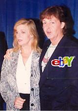 PAUL and LINDA McCARTNEY press conference -1993 -4 original 4x6 photos- Beatles