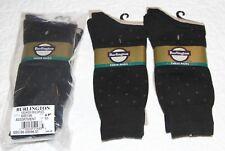 Burlington Fashion sock assortment tan, navy,  black,  6 - 12.5 12 sock lot.
