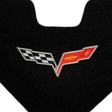 Corvette Cross Flag Silver Emblem Trunk Liner C6 05-13