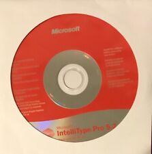 Microsoft Intellipoint 5.3 /Intellitype Pro 5.2 Keyboard Software