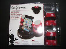 Disney iHome Mini Speakers For iPhone, iPod, Mac, and PC