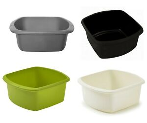 Rectangular Washing Up Bowl Plastic Kitchen Basin Sink Cutlery Tidy Bowl New