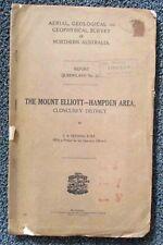 Cloncurry Dist. Mt Elliott-Hampden. 1938