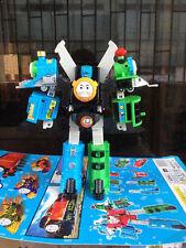 "Hot Thomas The Train Transformer ""Super Thomas"" Voltron Devastator Tank Engine"