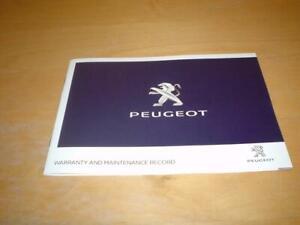 PEUGEOT SERVICE 108 208 308 508 SW RCZ EXPER PARTNER BOOK Owners Manual Handbook