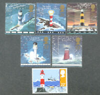 Lighthouses set Great Britain + extra value mnh