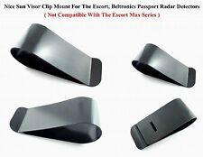 1pc Nice Metal Sun Visor Clip Mount For The Escort, Bel Passport Radar Detectors