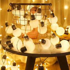 G45 Globe Light Bulbs LED Fairy String Lights Christmas Party Home Wedding Decor
