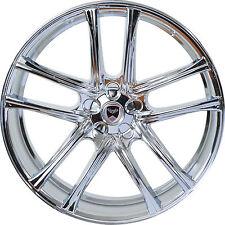 Set of 4 GWG Wheels 17 inch Chrome ZERO 17x7.5 Rims fits 5x114.3 ET40 CB74.1