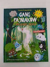 książka  GANG FAJNIAKÓW  i sprzątanie świata bycie eko jest fajne