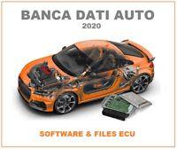 Database Auto 2020 File ORI originali mappature centraline ECU EGR tuning obd 2