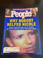 People Magazine February 20 1995 Nicole Brown Simpson