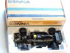 Ayrton Senna 1:18 Minichamps LOTUS John PLayer Special  Renault 97T 1985 f1/ car