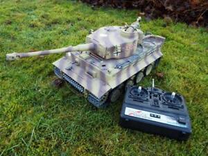 RC Tank Heng Long Tiger I 1:16 Advanced Line IR/BB