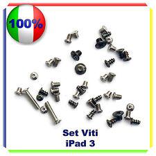 Set VITI Completo per  IPAD 3 Kit Riparazione Ricambio per IPAD 3