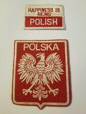 Ethnic Polish patch