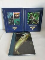 North American Fishing Club NAFC 2 Books and The hunting & fishing Library lot