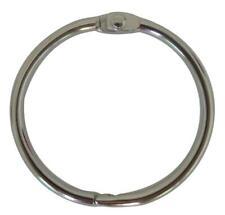 Shapenty 10PCS Loose Leaf Binder Photo Book Ring Clip Metal Key Chain...