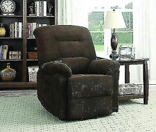 Coaster 600397 Power Lift Recliner - Chocolate