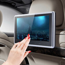 "10"" LCD Car Pillow Headrest Monitor DVD/USB/SD Player IR/FM Game Handle"