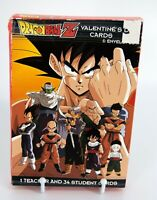 SEALED Dragonball Z 2000 Valentines Day 35 Cards Envelopes American Greetings