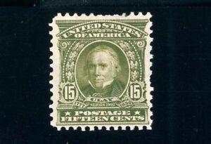 USAstamps Unused VF US Serie of 1902 Clay Scott 309 OG MHR