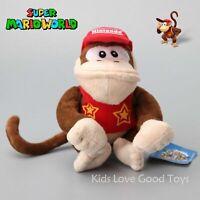 "Super Mario Bros Donkey Kong Plush Doll Stuffed Animal Soft Toy 8"""