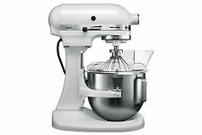 Kitchenaid Deluxe Mixer KPM5-Empire Red White