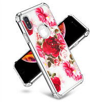Fit in iPhone 6 6s 7 8 Plus X XR XS Max Hybrid Shockproof Clear 3D Diamond Case