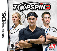 Top Spin 3 Nintendo DS Tennis Game >Brand New - In Stock - Fast Ship<